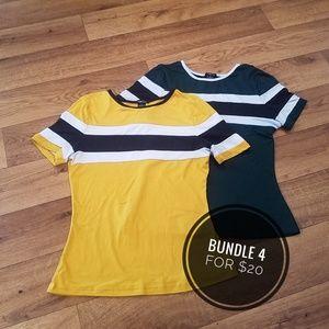 👻2 Rue21 Shirts, 90s Inpso, Small👻